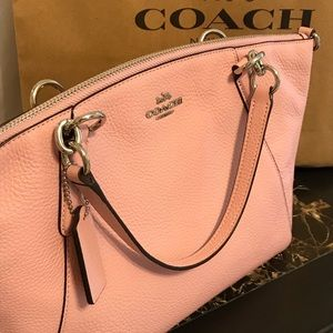 COACH PURSE 👛 Pink Shelby Design NEW